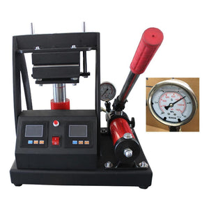 Hydraulic Manual Rosin herb Tech Heat Press Dual Heating Plates Dab Press Machine rosin extraction presses