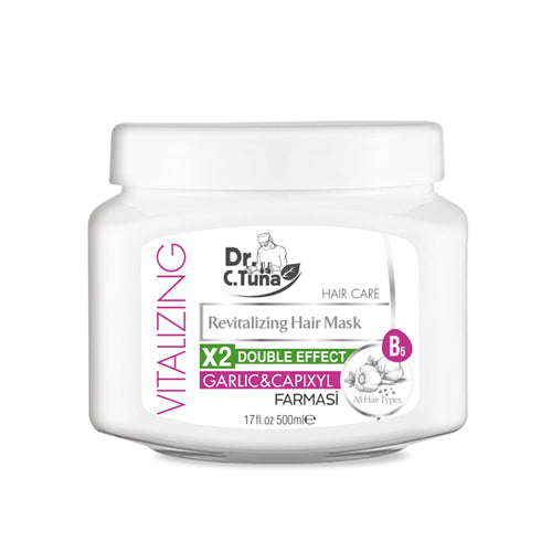 DR C TUNA VITALIZING HAIR MASK GARLIC EXTRACT 500 ML
