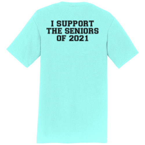 SENIOR Family/Friends Cheer Shirt (Front & Back)