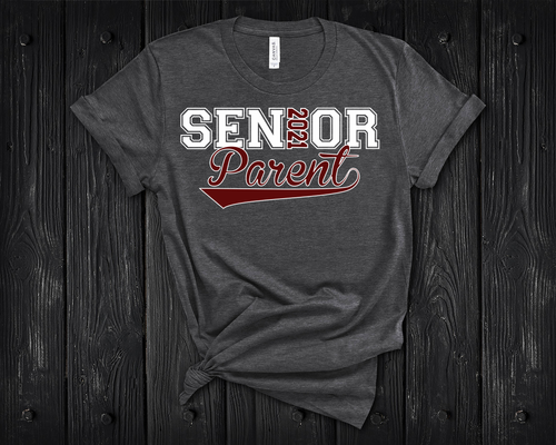 Senior 2021 Parent Shirt