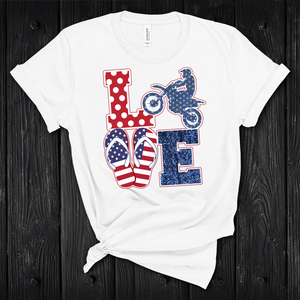 Dirt Bike Love Shirt
