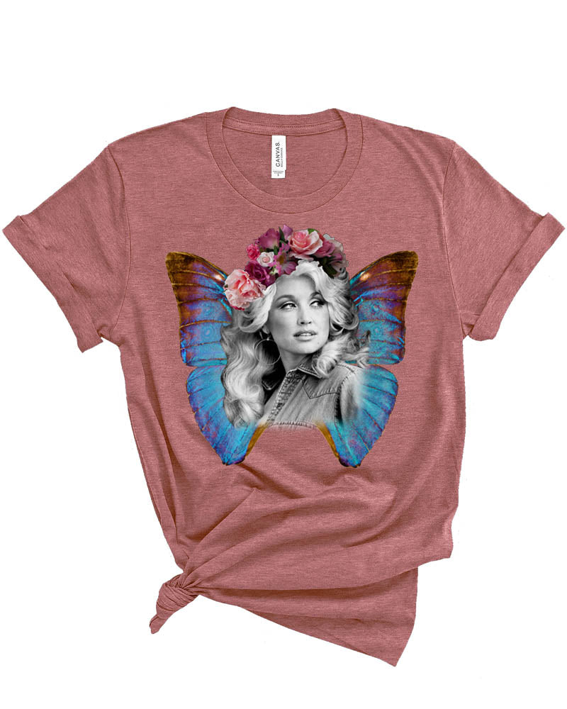 Dolly Parton Butterfly Shirt