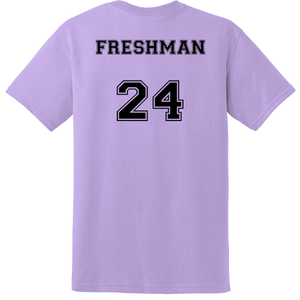 FRESHMAN Student's Cheer Shirt (Front & Back)