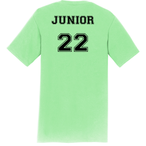 JUNIOR Student's Cheer Shirt (Front & Back)