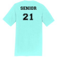 Load image into Gallery viewer, SENIOR Student's Cheer Shirt (Front & Back)