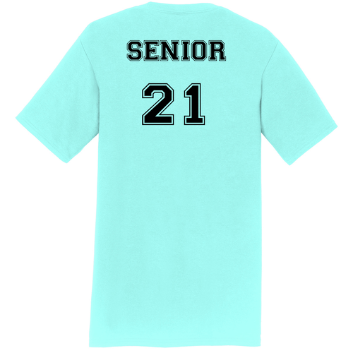 SENIOR Student's Cheer Shirt (Front & Back)