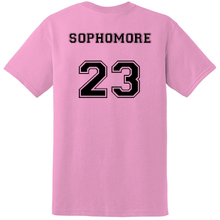 Load image into Gallery viewer, SOPHOMORE Student's Cheer Shirt (Front & Back)