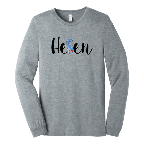 Long Sleeve Team Helen Benefit Shirt (Front & Back)