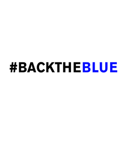 #BackTheBlue Decal