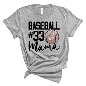 Customizable Baseball Mama Spirit Shirt
