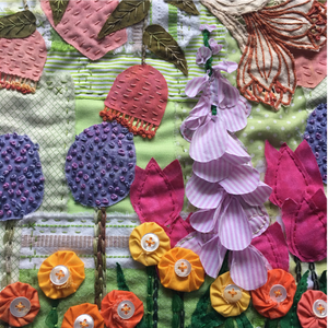 Forage Slow Stitching with Lisa Mattock