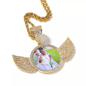 Pegasus photo pendant