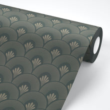 Load image into Gallery viewer, Gatsby Art Deco Peel and Stick Wallpaper - The Wallberry
