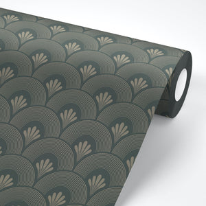 Gatsby Art Deco Peel and Stick Wallpaper - The Wallberry