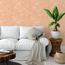 Load image into Gallery viewer, Custom Order: Burnt Orange Wallpaper | Peel and Stick - The Wallberry