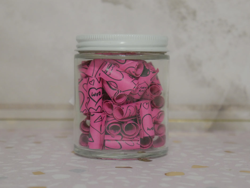 DAYDREAMER JOURNAL JAR - CLOSER AS COUPLES