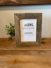 Load image into Gallery viewer, Reclaimed Barnwood Picture Frames **Multiple Sizes Available**