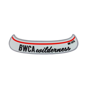 BWCA Canoe Sticker