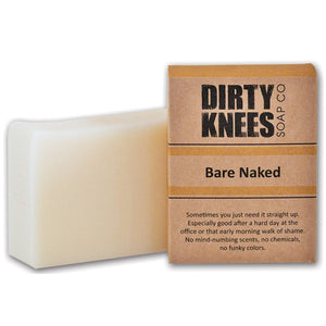 Bare Naked Bar Soap from Dirty Knees