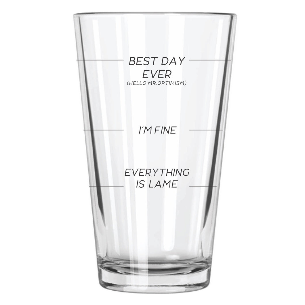 Beer Gauge Beer Glass