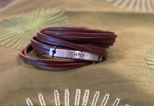 Load image into Gallery viewer, Create Hope Cuffs Leather Wrap Bracelet