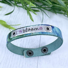 Load image into Gallery viewer, Create Hope Cuffs Leather Skinny Bracelet