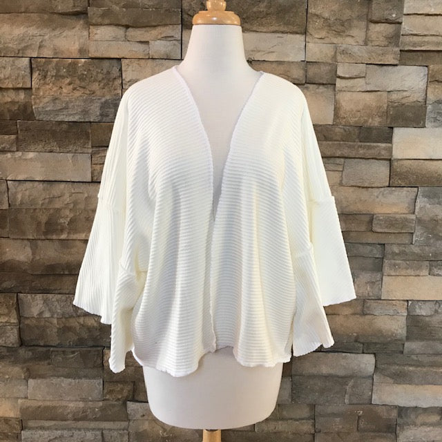 Shrug sweater - Ivory