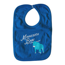 Load image into Gallery viewer, Minnesota Babe Baby Bib