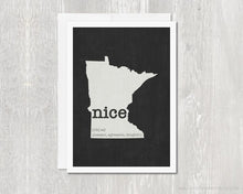 Load image into Gallery viewer, Minnesota Nice GREETING CARD