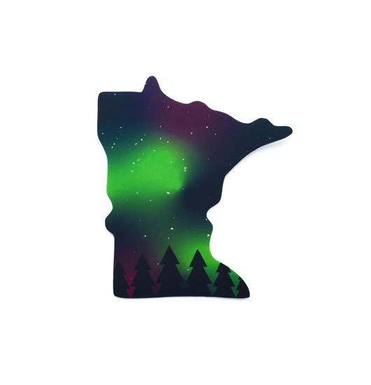 MN Northern Lights Sticker