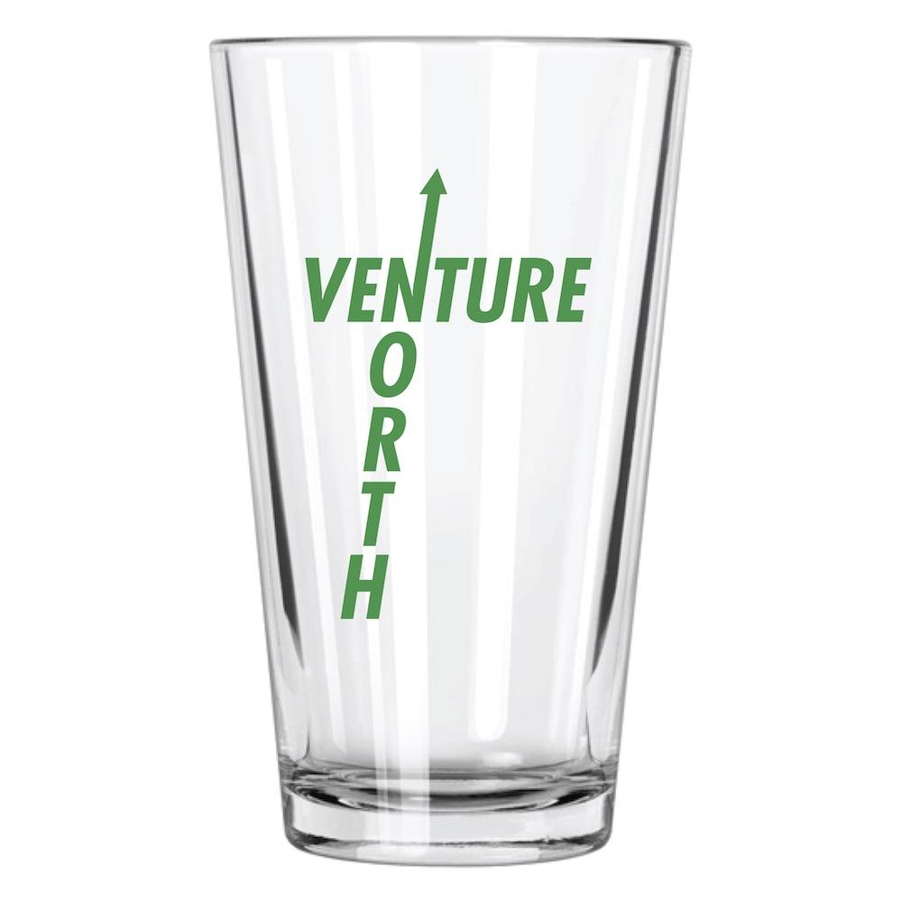 Venture North Pint Glass