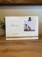 "Load image into Gallery viewer, Wood Plaque w/Photo Clip (9x6"") **Multiple Styles Available**"