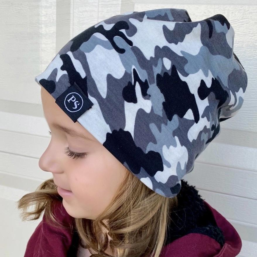 CHILDREN'S SIZE MULTI FUNCTION BEANIE/FACE MASK