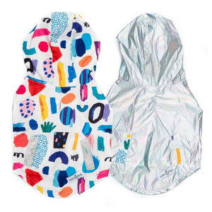 Dog Reversible Raincoat