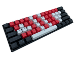 Crimson Strike Keycap Set - Alpherior Keys