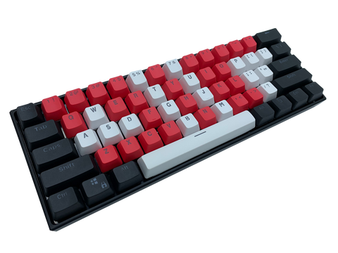Hayabusa 60% Keyboard - Crimson Strike - Alpherior Keys