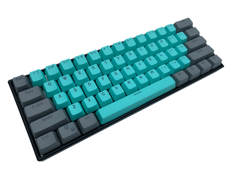 Hayabusa 60% Keyboard - Guardian - Alpherior Keys