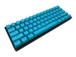 Hayabusa 60% Keyboard Keyboard - Blue - Alpherior Keys