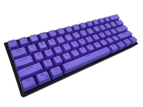 Hayabusa 60% Keyboard - Purple - Alpherior Keys