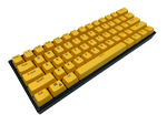 Yellow Keycap Set - Alpherior Keys - Alpherior Keys