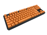 Hotswap TKL Mechanical Keyboard - Orange - Alpherior Keys
