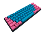 Hayabusa 60% Keyboard - Cotton Candy V2 - Alpherior Keys