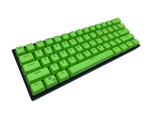 Hayabusa 60% Keyboard - Green - Alpherior Keys