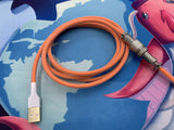 Orange - Aviator Cable - Alpherior Keys