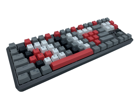 Hotswap TKL Mechanical Keyboard - Scorched - Alpherior Keys