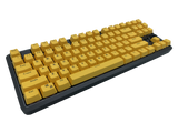 Hotswap TKL Mechanical Keyboard - Yellow - Alpherior Keys