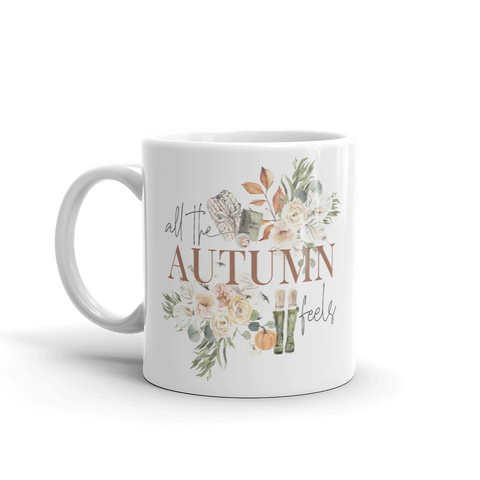 'All the Autumn Feels' Mug