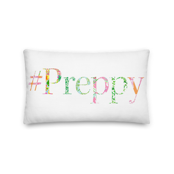 '#Preppy' Premium Pillow