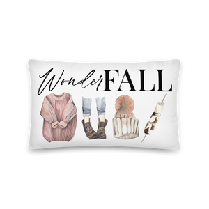 'WonderFALL' Throw Pillow