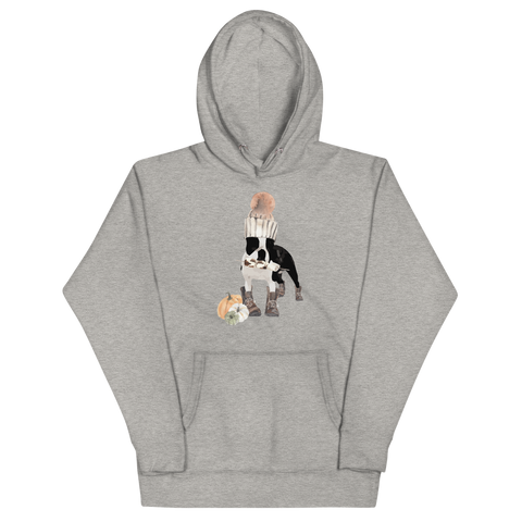 'S'mores Anyone?' Boston Terrier Unisex Hoodie